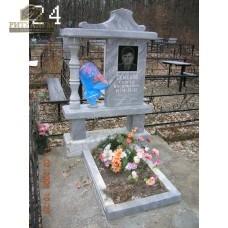 Памятник из мрамора - Малыш24 — ritualum.ru
