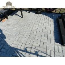 Тротуарная плитка с укладкой на бетон 10см. — ritualum.ru
